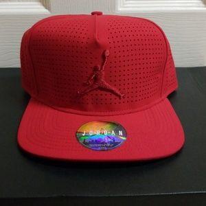 Jordan Accessories - Jordan Jumpman Perforated Snapback Hat 9669b7d38bc7
